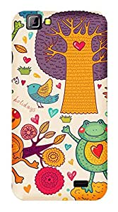 WOW Printed Designer Mobile Case Back Cover For LYF Wind 5