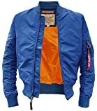 MA-1 TT Fliegerjacke pacific blue - S