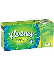 Kleenex Etuis Balsam de 12 Paquets de Mouchoirs
