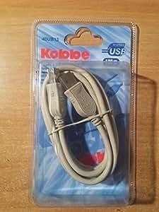 Cordon USB v2 Type A/B Kobbe 1,8m