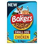 Bakers Complete Dog Food Small Dog Tender Meaty Chunks Tasty Chicken and Country Vegetables, 2.7 kg - Pack of 4 22