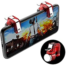 ZORBES PUBG Mobile Game Controller (Model 2, Red)