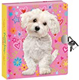 Peaceable Kingdom / NEW!! Doodle Dog Lock & Key Diary