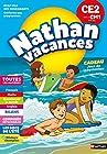 Cahier de Vacances 2019 du CE2 vers le CM1 - Nathan Vacances - 8/9 ANS