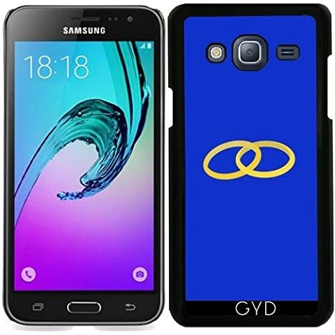 Custodia per Samsung Galaxy J3 2016 (SM-J320) - Anelli Collegati by ilovecotton