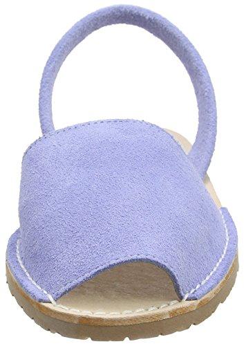 Solillas Lavenda, Scarpe Col Tacco con Cinturino a T Donna Blue (Blue)