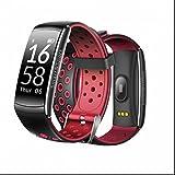Herzfrequenz Monitor Wireless Fitness Tracker Sport Armband,Schlafüberwachung,Sitzender Alarm,Kalorienzähler,sport uhr Sport smart bracelet Aussehen Vogue,Stoßfest,Bester Fitness Aktivitätstracker