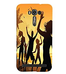 GADGET LOOKS PRINTED BACK COVER FOR Asus Zenfone 2 Laser 550 KL MULTICOLOR