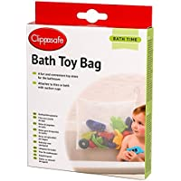 Clippasafe Bath Toy Bag - White