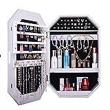 Specchietto da toeletta pensile, luce a LED intelligente per la casa, armadietto di stoccaggio per cosmetici