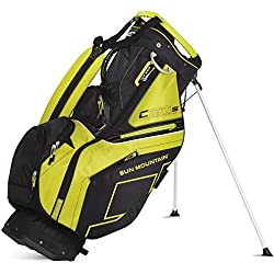 Sun Mountain C130-S Golf Stand Bag - Black/Citron - 2015 Closeout by Sun Mountain