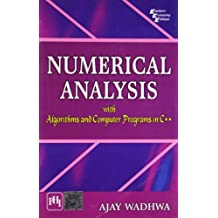 Numerical Analysis with Algorithms and Computer