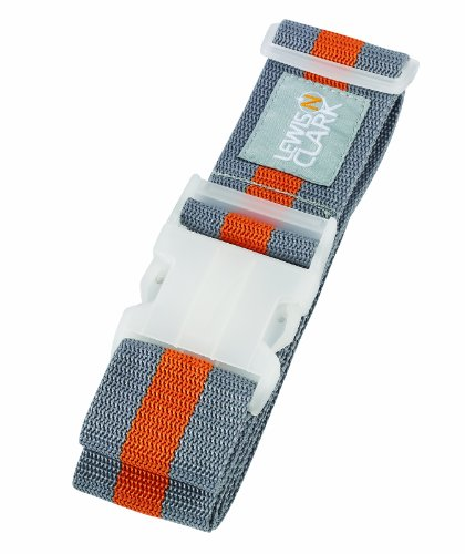 lewis-n-clark-deluxe-cinturon-talla-unica-gray