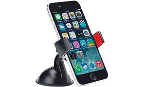 OSO OS1374B U - Soporte universal para teléfono móvil, color negro