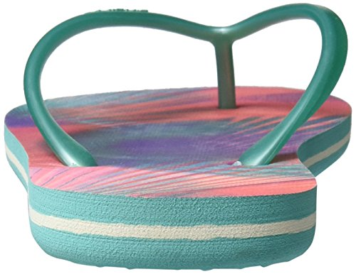 O'Neill Fw Printed, Tongs femme Rose (Pink Allover Print W/ Green)