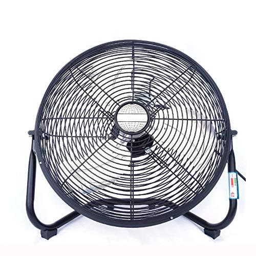 DYR Ventilador eléctrico, Ventilador Industrial de pie de Alta Potencia/Bajo Ruido/Ventiladores mecánicos...