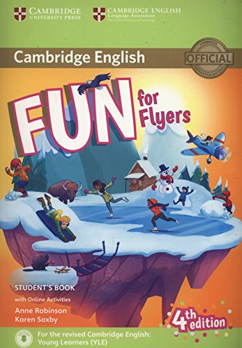 Fun for Flyers Student's Book with Online Activities with Audio por Anne Robinson