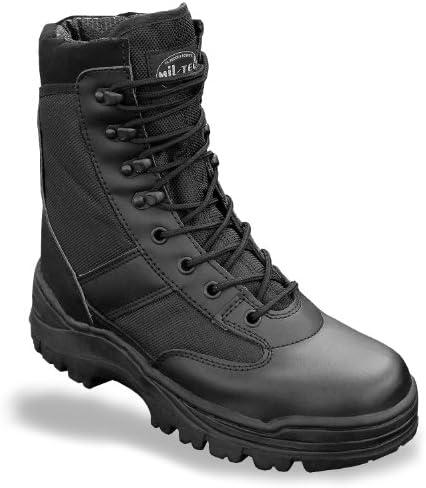 Mil-Tec SWAT Stivali Nero Stivali Stivali Stivali da Lavoro Scarpa da Trekking Montagna di Scarpa Outdoor Scarpe Taglia 37 – 50 B06XCJ6KX4 Parent | Good Design  | Qualità In Primo Luogo  f6cd58