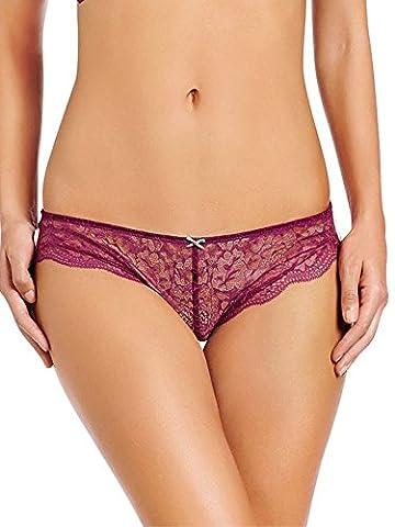 Heidi Klum Cle Damour H30-1214 Bikini Briefs Magenta Purple/Creole Pink Purple Medium