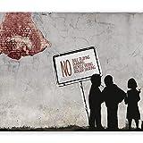 murando - Fototapete 250x175 cm - Vlies Tapete - Moderne Wanddeko - Design Tapete - Wandtapete - Wand Dekoration - Banksy 10110905-22