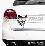 Finest Folia Joker Batman Aufkleber Sticker Dekor Folie Autoaufkleber (Joker mittel ohne Schrift)