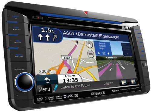 Kenwood DNX-521VBT Navigationssystem (Kontinent) Kenwood Auto Gps