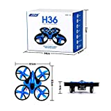 Generic JJ H36 Drone 2.4G Micro mini Quadcopter 2 Speed With Headless Mode One Key Return Helicopter Vs H8 Mini CX10 Drone