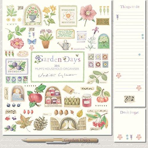 Garden Days Wall: 12x12 Planner (Square Planner)