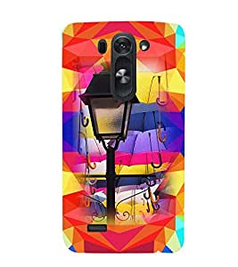 PRINTVISA Abstract Lamp Case Cover for LG G3 Beat