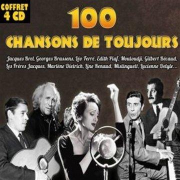 100 chansons de toujours - Volume 1 - Coffret 4 CD