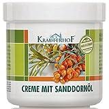 Kräuterhof 2er Vorteilspack Creme mit Sanddornöl, 2 Dosen a 250ml