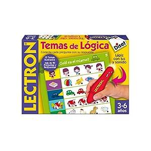 Diset 63882 – Lectron Lapiz Temas De Logica – Juego educativo a partir de 3 años