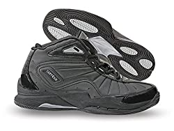 Nivia Combat 1 Basketball Shoes, Mens 7 UK (Black)