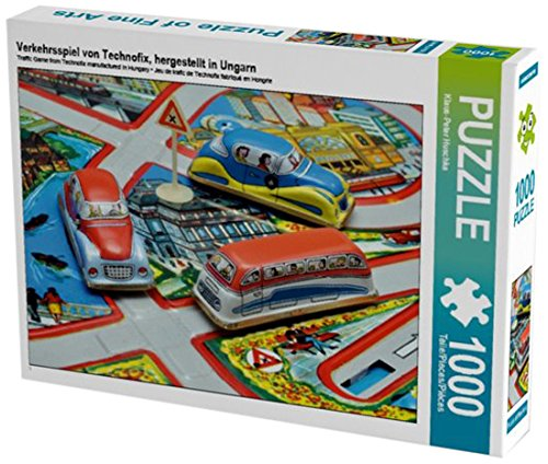 Verkehrsspiel von Technofix, hergestellt in Ungarn 1000 Teile Puzzle quer (CALVENDO Hobbys Preisvergleich