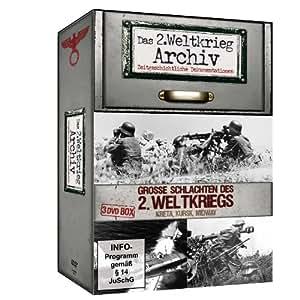 Große Schlachten des 2. Weltkriegs - Das 2. Weltkrieg Archiv - 3 DVD Box