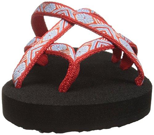 Teva Olowahu W's, Tongs Femme Rouge (Isla Red)