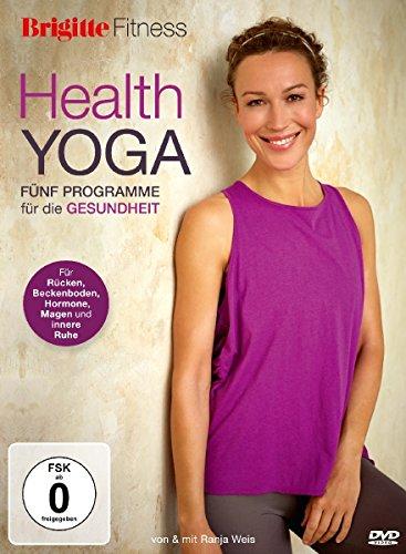 Brigitte Fitness - Health Yoga: Fünf Programme für die Fitness