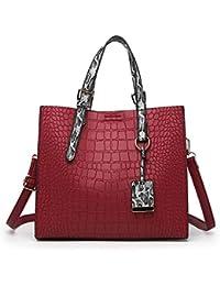 fdf824939af2 HITSAN INCORPORATION New Bag Brand Women Handbags Crocodile Leather Fashion  Shopper Tote Bag Female Luxury Shoulder
