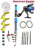 #1: Fishing Rod,Reel Complete Kit