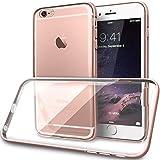 Funda iPhone 6S Plus, TORU [BX METAL] Funda Hybrid Bumper iPhone 6s Plus [Marco protector de aluminio][Funda transparente fina] para iPhone 6 Plus/6s Plus - Oro rosáceo