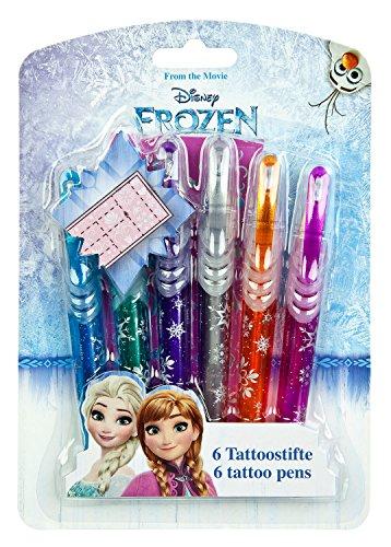 Undercover FRZH3300 - Tattoo Stifte, Disney Frozen