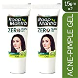 Roop Mantra Herbal Anti Acne Gel for Men and Women, 15g (Pack of 2)