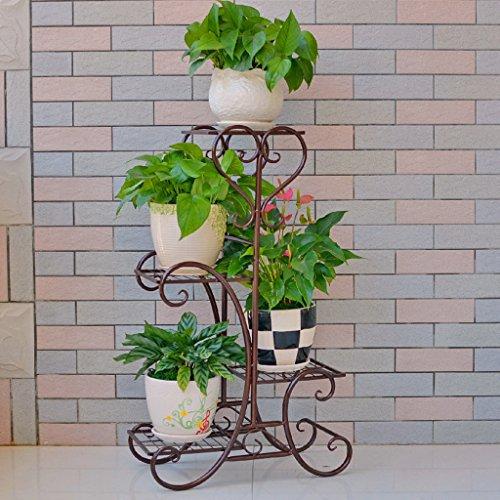 e2411c9b2316 Fu Man Li Trading Company Ensemble de fleurs en fer de style européen  Balançoire de plancher