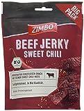 Zimbo BIO Beef Jerky Sweet Chili, 5er Pack (5 x 75 g)