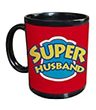 TIED RIBBONS Gifts for Super Husband Black Coffee Mug A Best Gift for Your Loving Husband
