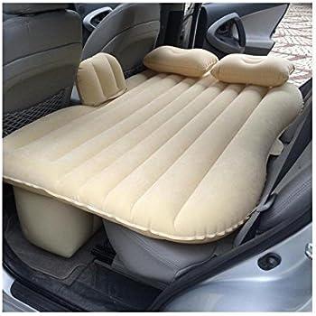 Materasso Gonfiabile Da Macchina.Flm Materasso Da Auto Letto Gonfiabile Per Auto Con Cuscini E Gonfiatore Car Bag