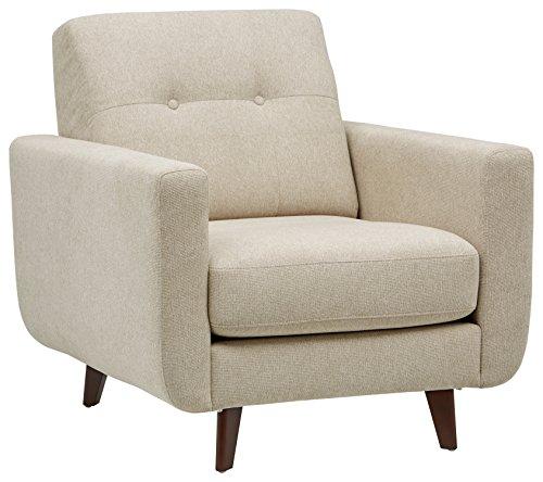 Marca Amazon -Rivet Sloane - Butaca capitoné de diseño estilo Mid-century Modern...