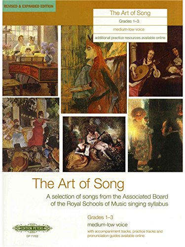 The Art of Song Grades 1-3, Medium-Low Voice
