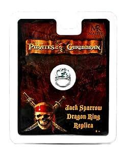 Master Replicas - Pirates Des Caraibes - Bijoux - Bague Dragon Jack Sparrow
