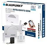 Kit de Alarma inteligente Blaupunkt SA 2500. SIN Cuotas Mensuales, transmisión vía GSM, 100% inalámbrica, fácil de instalar, para tu hogar o negocio.